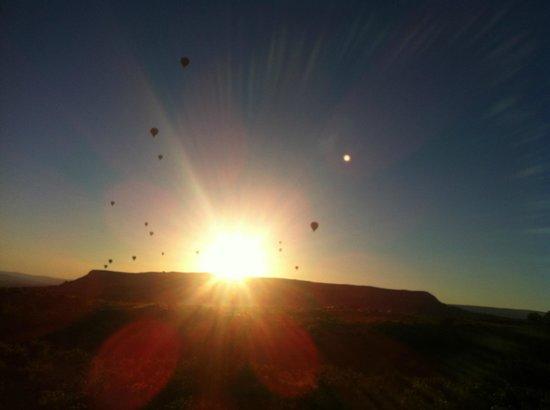 Goreme Balloons : sunrise