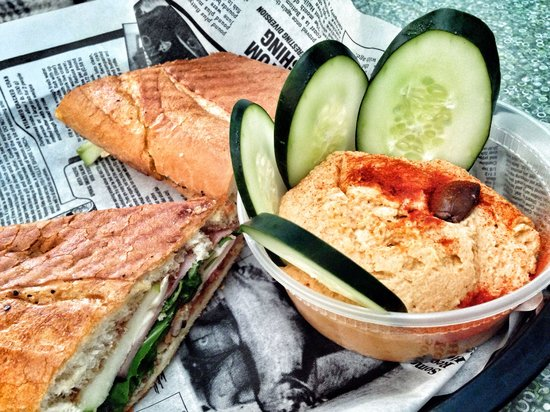 Brown Dog Deli: Apple butter jeans and an amazing hummus