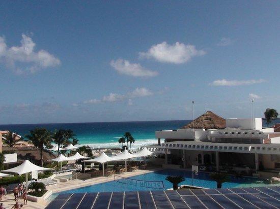 Omni Cancun Resort & Villas : Hermosa vista desde mi habitación