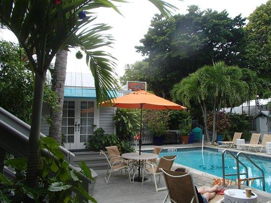 Eden House: pool area