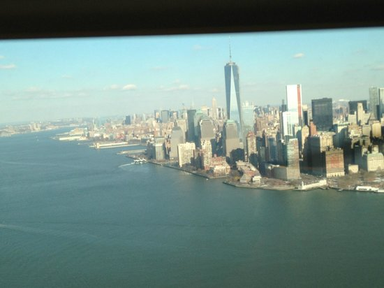 Helicopter New York City : Manhattan