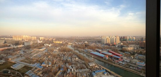 East Beijing : Sunset view from room