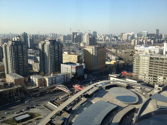 East Beijing : View from the lounge