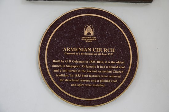 Armenian Church: Oldest church