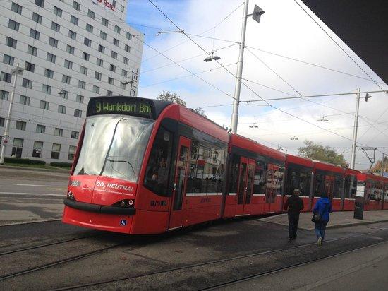 ibis budget Bern Expo: near to tram stop