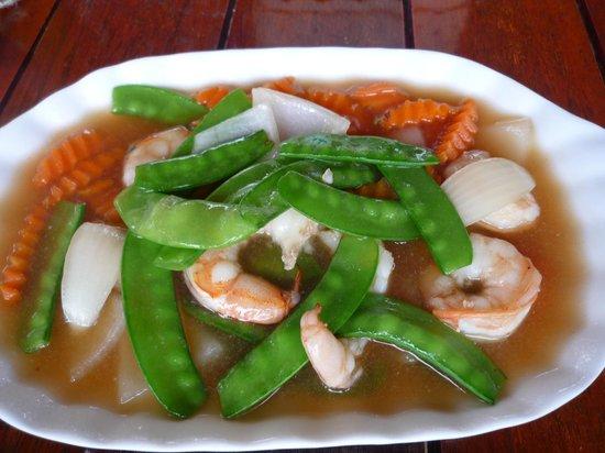 Sabai Sabai: 野菜炒め