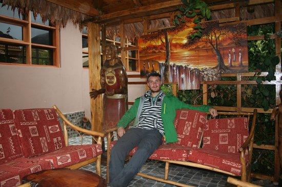Inti Nan Hotel : Tranquilo en el jardin
