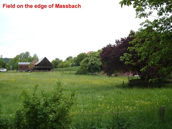 This field is near the center of old Massbach,