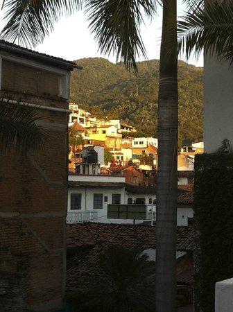 Hotel Rio Malecon Puerto Vallarta: view from Hotel Rio balcony
