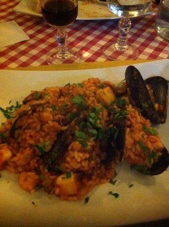 Ristorante Antica Taverna: Seafood Risotto