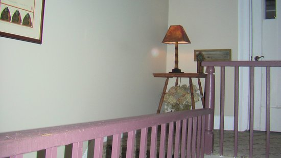 The American Hotel: Charming Lamp in Hallway