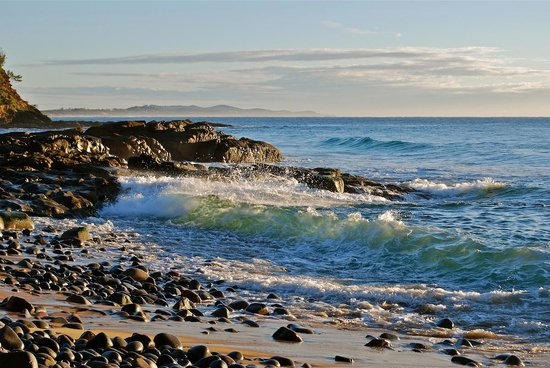 The Point Coolum Beach : View over Coolum beach
