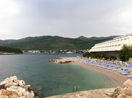 Valamar Dubrovnik President Hotel: Отель и пляж