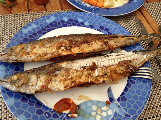 Secrets Vallarta Bay Puerto Vallarta: 自己掉的鱼带到酒店直接给你烹饪了