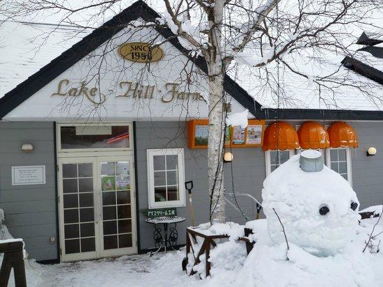 Lake-Hill Farm : 外観