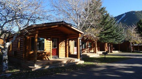 Cowboy Village Resort: the cabins