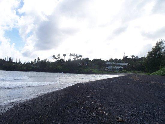 Hana Kai Maui: view from up the beach