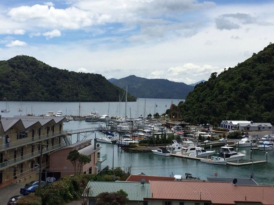 Harbour View Motel Picton: View from third floor room
