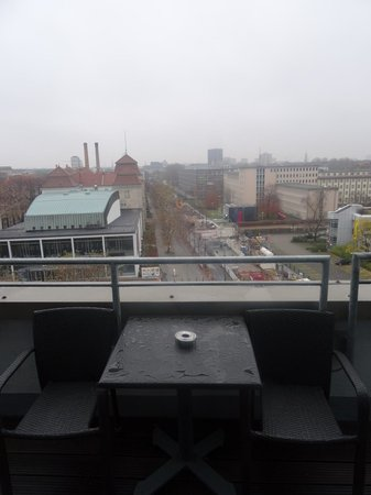 Hotel Indigo Berlin - Ku'damm : Балкон