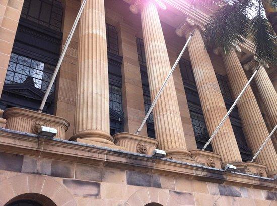 the city hall, panoramic view