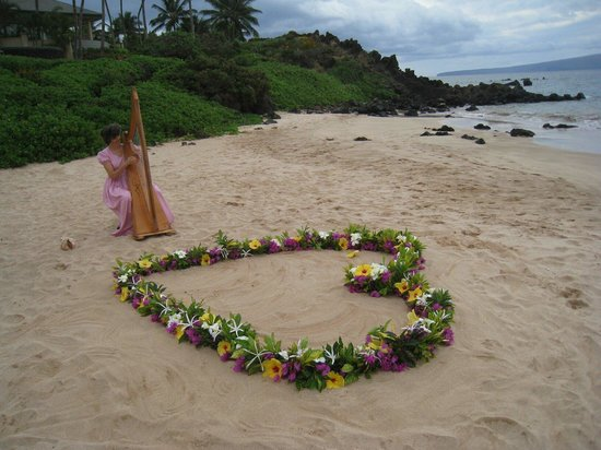 Maui Kamaole: Wedding on White Rock beach in Wailea