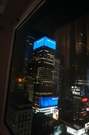 Novotel New York Times Square: View from the room