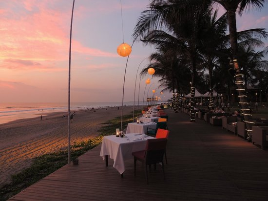 The Samaya Bali Seminyak: terras aan het strand