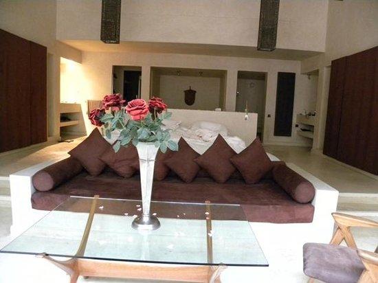 Hôtel Dar Sabra Marrakech : Suite supérieure, géante... et tout confort