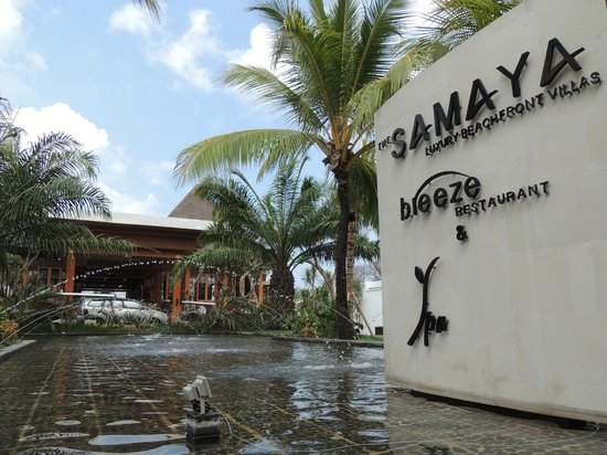 The Samaya Bali Seminyak: ingang