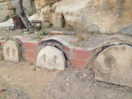 Wadi Rum Bedouin Camp : The sand oven