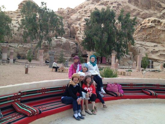 Wadi Rum Bedouin Camp : Entertainment area