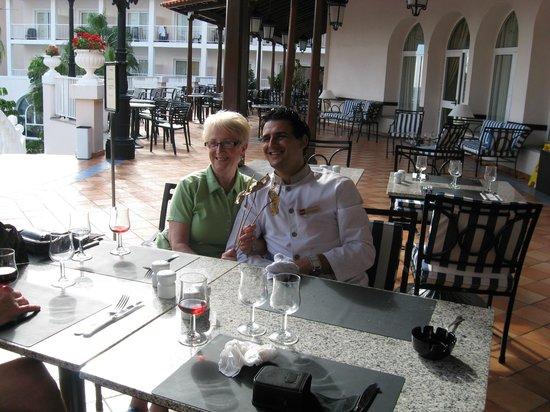 Hotel Riu Palace Madeira: Dining terrace