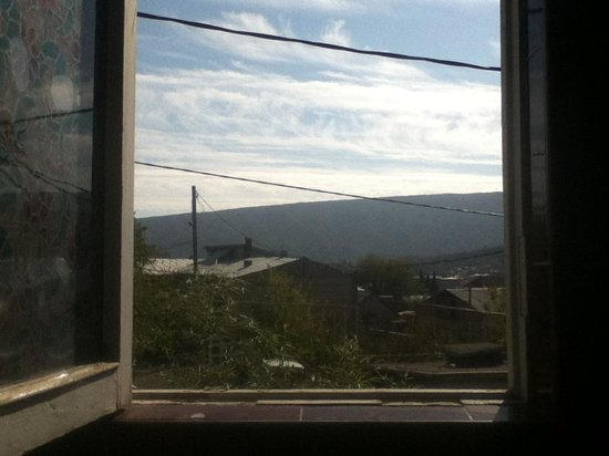 Tbilisi Hostel : View from the 2nd floor Bathroom Window