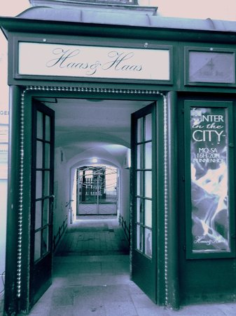 Haas & Haas: Entree du cafe