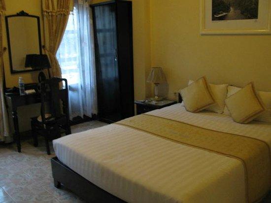 Thuy Anh Hotel : schönes sauberes Zimmer
