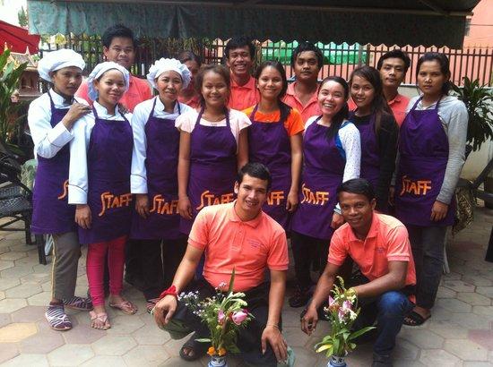 Angkor Voyage Villa: All the staff