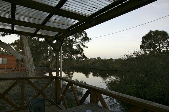 Seal Bay Cottages : The veranda