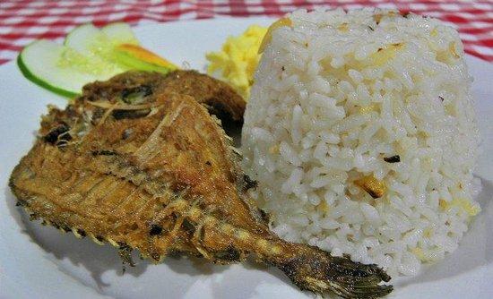 Ysabelle Mansion: Free breakfast - Lamayo Danggit