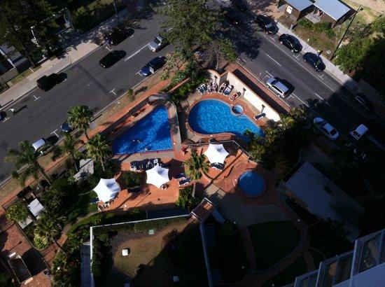 Breakfree Peninsula : pool view