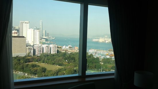 Metropark Hotel Causeway Bay Hong Kong: From my bed