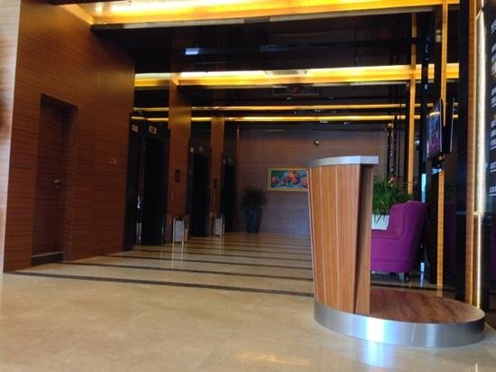 Hotel Granada Johor Bahru: lift lobby