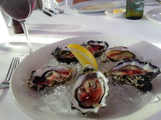 Guillaume at Bennelong: Oysters