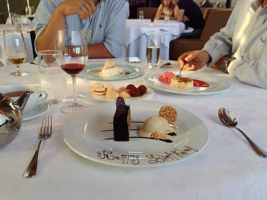 Guillaume at Bennelong: Dessert
