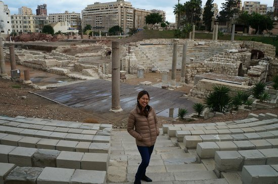 Cairo-Overnight Tours - Day Tours : Ruins of a Roman Auditorium - Alexandria, Egypt