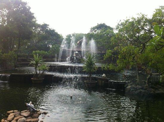 Hilton Colombo : Courtyard Pond Area