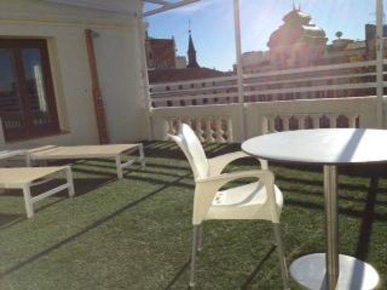 Petit Palace Lealtad Plaza : Terraza de la Suite