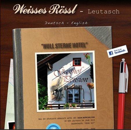 Leutasch, النمسا: Unsere Homepage www.null-stern-hotel.at