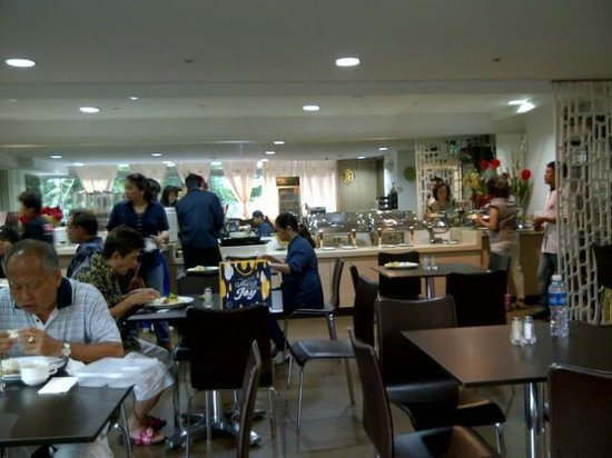 RELC International Hotel : RELC - the cafe at 2nd floor