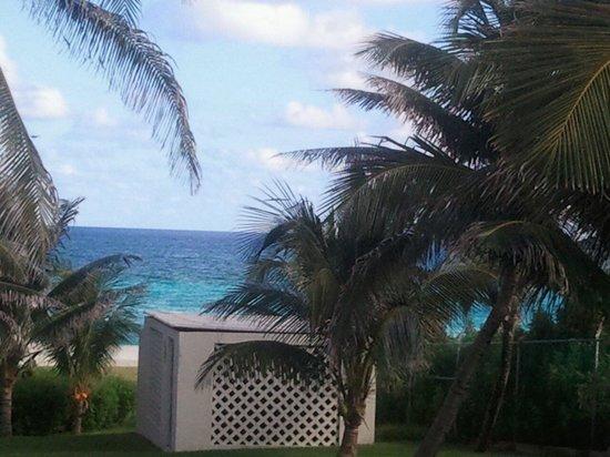 Iberostar Cancun : 가든뷰 빌라에서 바라보이는 에메랄드빛의  카리브해
