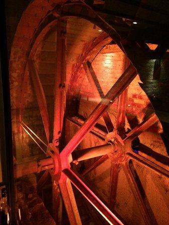 Tuddenham Mill: Behind the Bar